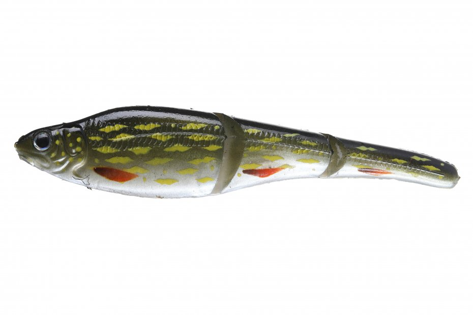 Sebile Magic Swimmer Soft 105-Sk-Pike