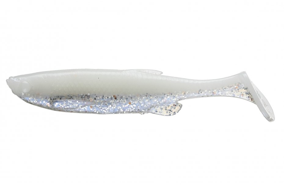 Savage Gear 3D Fat Minnow T-Tail 13cm White Silver