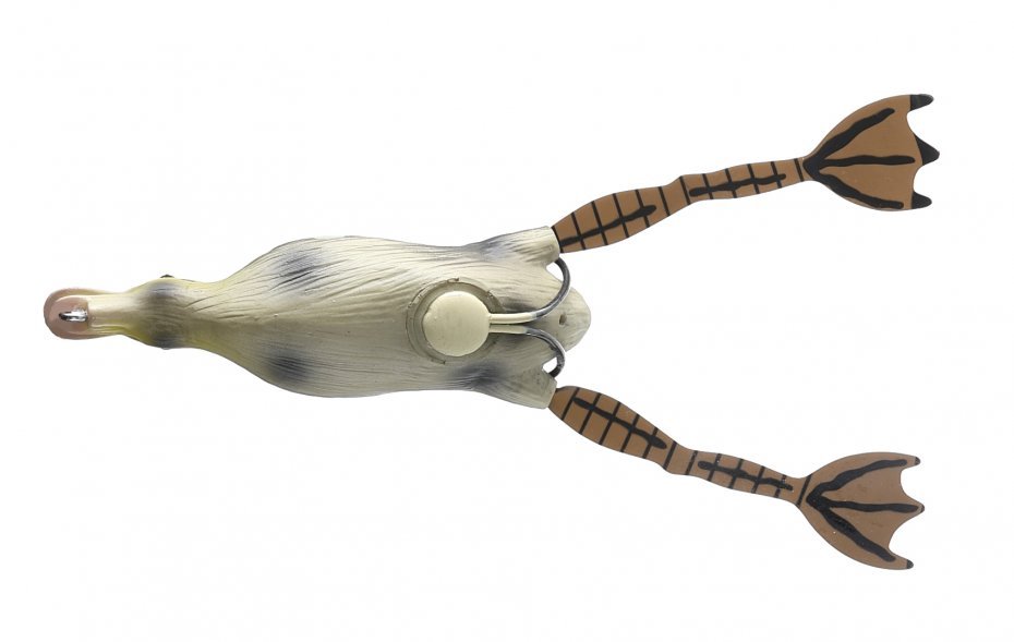 Savage Gear 3D Hollow Duckling weedless L 10cm Natural