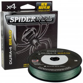 Spiderwire Dura 4 Moss Green 300m 0.25mm
