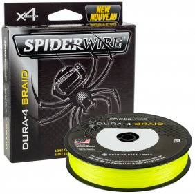 Spiderwire Dura 4 Yellow 300m 0.25mm