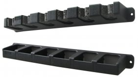 Berkley Bavrr Vertical Rod Rack/Blk