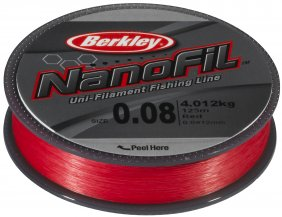 Berkley Nanofil 0.10 125m Red