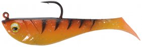 Berkley Pwb Prerigged Pulse Shad 8cm Orange Blk