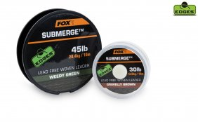 Fox Submerge Lead Free Leader Brown 45lb 10m