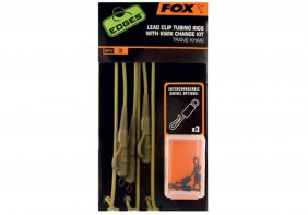 Fox Edges Trans Khaki Tubing Leadclip Rigs