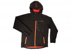 Fox Black Orange Shofshell Jacket M
