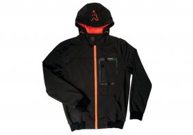 Fox Black Orange Shofshell Hoodie L