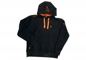 Fox Black Orange Hoodie L