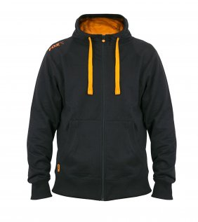 Fox Black Orange lightweight zipped hoodie XL