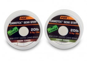 Fox Camotex dark SEMI STIFF 35lb 20m