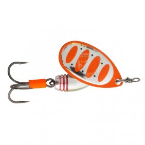 Savage Gear Rotex Spinner #2 5.5g Fluo Orange Silver