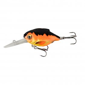 Savage Gear 3D Crucian Crank64 6.4cm SF DR Black & Orange