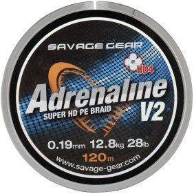 HD4 Adrenaline V2 120m 0.13mm Grey