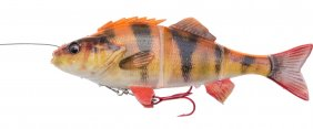 Savage Gear 4D Line Thru Perch 23cm SS Albino