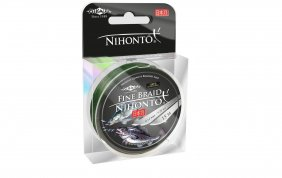 Mikado Nihonto Fine Braid 0.08 Green 15m