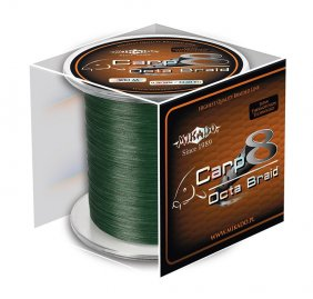 Mikado Carp Octa Braid 0.16 Green 300m
