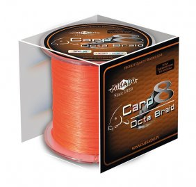 Mikado Carp Octa Braid 0.18 Orange 300m
