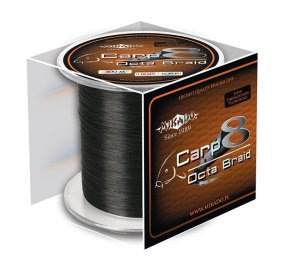 Mikado Carp Octa Braid 0.20 Black 600m
