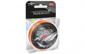 Nihonto Fine Braid 0.20 Orange 100m