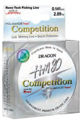 Dragon Hm80 Competition 50m 0.120mm Jasnoszara