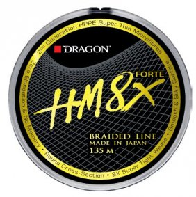 Dragon Hm8x Forte 135 m 0.10mm Jasnoszara