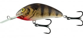 Salmo Hornet Emerald Perch Fl 9cm
