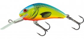 Salmo Hornet Chartreuse Blue Sink 3.5cm