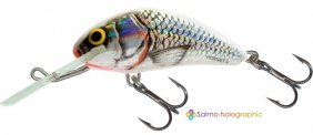 Hornet Silver White Shad Sink 4cm