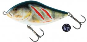 Slider Wounded Real Perch/Uv Sink 10cm