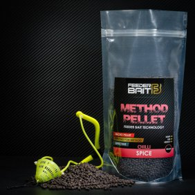 Feeder Bait Black Spice - Pikantny 4mm 800g