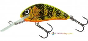 Salmo Hornet Gold Fluo Perch Fl 4cm