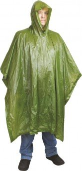 Mistrall Poncho Green