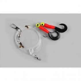 Twister 2-JIGS 1/0 RED/BLACK