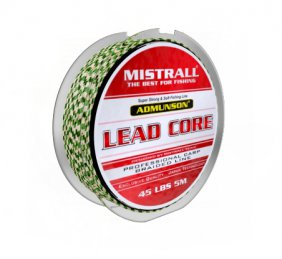 Mistrall Admunson Lead Core Bl Green/Black 45Lbs
