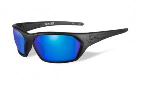 Wiley X Ignite Polarized Blue Mirror Matte Black Frame