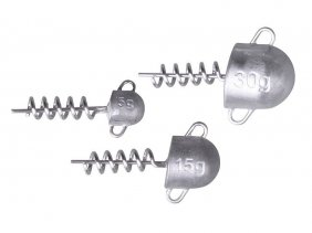 Cork Screw Heads 10g
