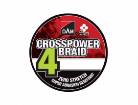 Dam Crosspower 8-Braid 0.10mm / 5.4kg/12lb /110M -