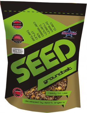 Seed Groundbait Groch naturalny 1l