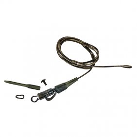 Safetly Clip QC Link Hollow Leader 80cm 45lbs