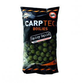 Dynamite Baits Carptec spicy squid 1kg 20mm