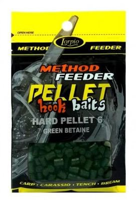 Hook Baits Hard Pellet 6 Green Betaine 25g