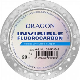 Fluorocarbon DRAGON INVISIBLE 20m 0.255mm
