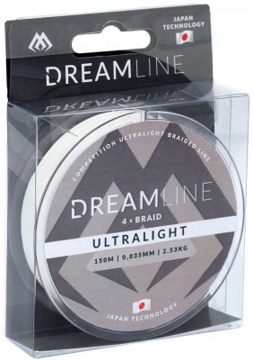 Dreamline Braid Ultralight 150m 0,035mm
