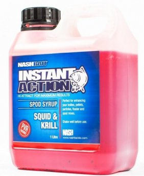 Booster SQUID AND KRILL SPOD SYRUP 1L