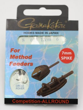 Booklet method spike pchr #8-0.25mm 12cm