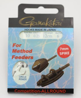 Booklet method spike pchr#10-0.25mm 12cm