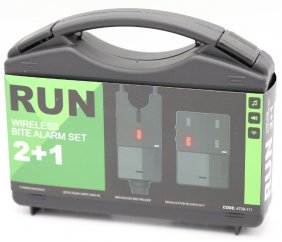 Run bite alarm set 2+1 blue/red