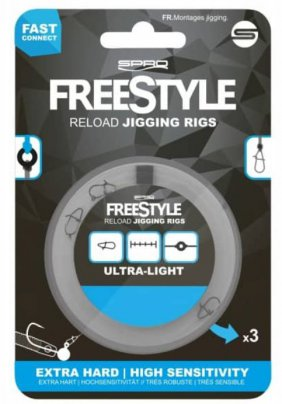 Przypon Spro Freestyle Reload Jig Rig 0,18mm